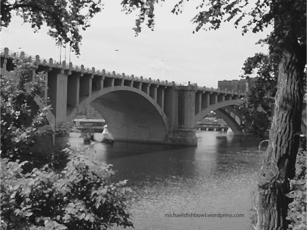 3rd Avenue Bridge over Mississippi River
