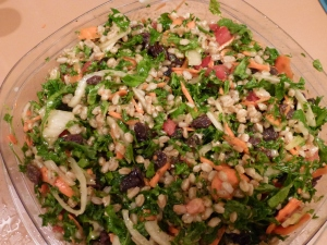 Kale and Farro Salad